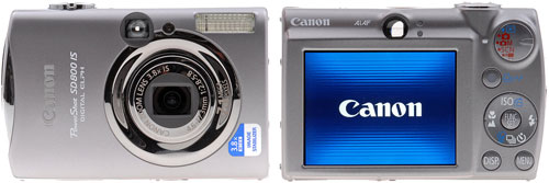 Тест Canon Digital IXUS 850 IS на DPResource