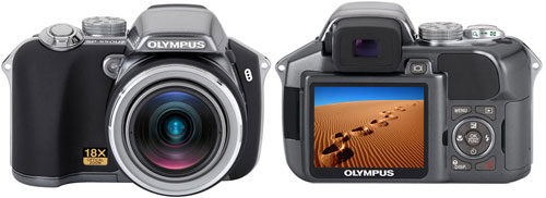 Тест Olympus SP-550 Ultra Zoom на DCResource