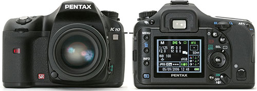 Тест Pentax K10D на Imaging Resourse