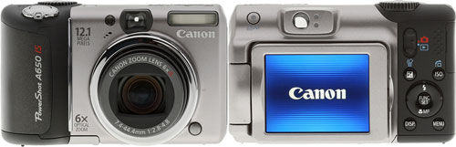 Тест Canon PowerShot A650 IS на Imaging Resource