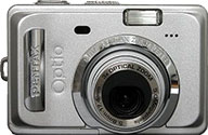 Обзор Pentax Optio S55 на DigitalCameraInfo
