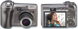Тест Olympus SP-310 на Imaging Resource