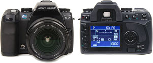 Обзор Konica Minolta Dynax 5D на Steves Digicams