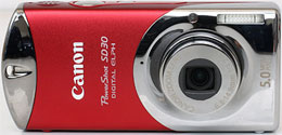 Тест Canon Digital Ixus i на DCResource