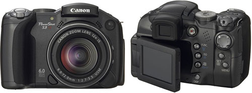 Тест Canon PowerShot S3 IS на Imaging Resource