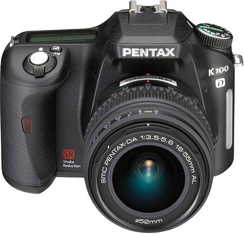 Новые зеркалки Pentax K100D и K110D