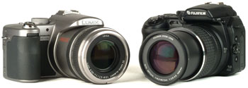 Сравнение Panasonic Lumix FZ30 vs Fujifilm FinePix S9000