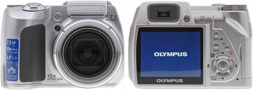 Тест Olympus SP-510 UltraZoom на Imaging Resource