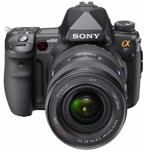 Тест Sony Alpha DSLR-A850 на Imaging Resource