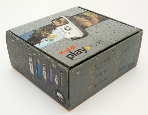 Kodak PlaySport unboxing. И первые впечатления.