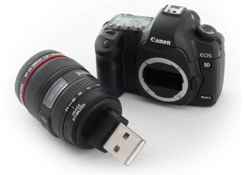 Ортодоксальным кенонистам - Canon 5D Mark II ... USB Drive