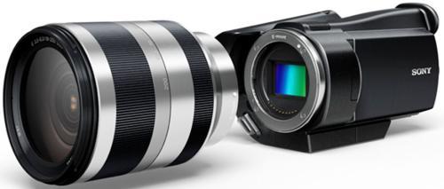 Sony разработала любительский камкордер со сменными объективами
