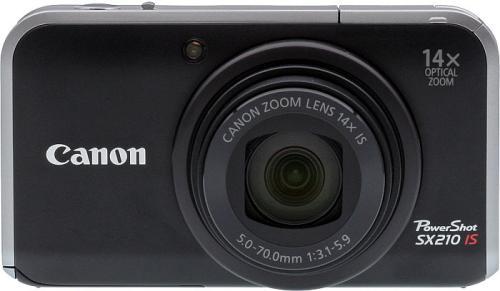 Тест / обзор Canon PowerShot SX210 IS на Imaging Resource