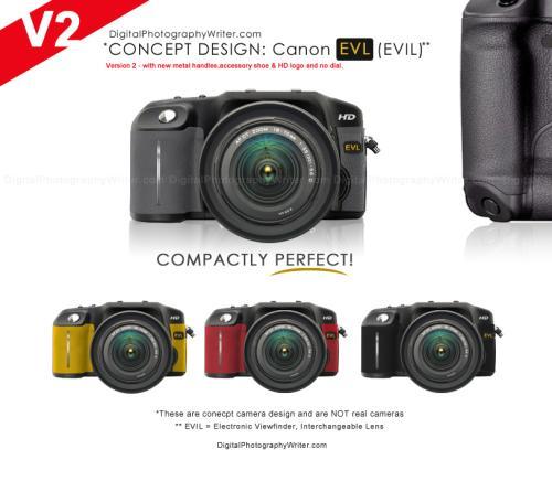 Canon не планирует создавать EVIL-фотоаппарат