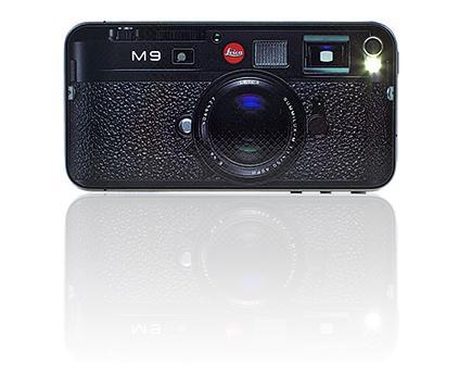iLeica - корпус iPhone, стилизованный под Leica M9