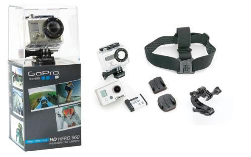 GoPro - наголовная видеокамера для экстремалов
