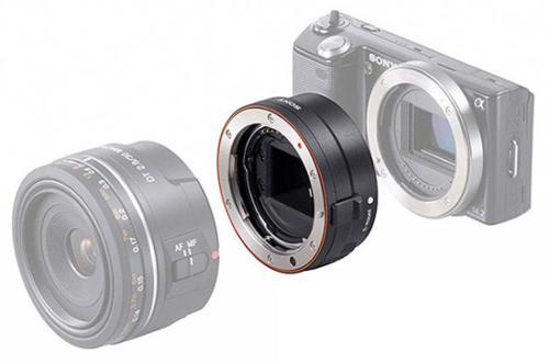 Sony NEX получили возможность автофокуса для объективов Sony Alpha