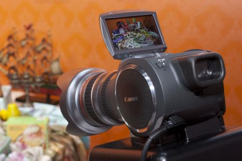 Концепт видеоустройства Canon