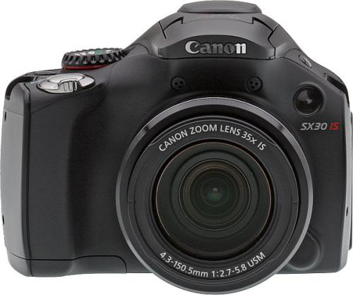 Тест/обзор Canon PowerShot SX30 IS на Imaging Resource