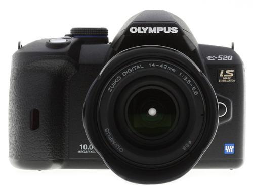Тест / обзор Olympus E-520 на Imaging Resource