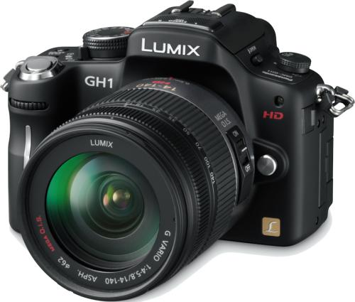 Panasonic Lumix DMC-GH1 - G1+HDvideo
