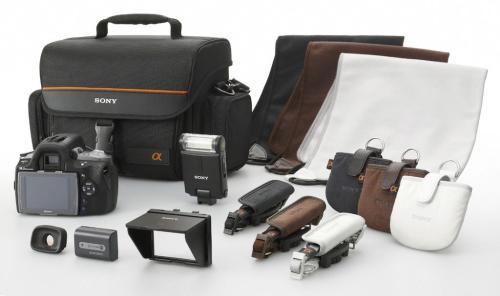 Sony анонсировала 3 новых зеркальных цифровых фотоаппарата, 4 объектива, вспышку и аксессуары