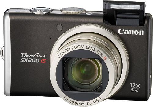 Тест / обзор Canon PowerShot SX200 на Imaging Resource